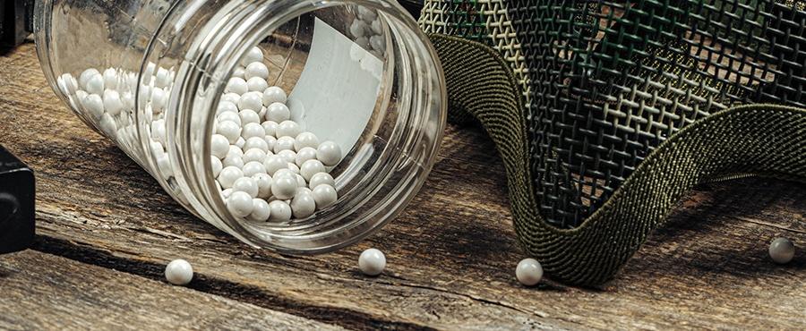 Airsoft balls